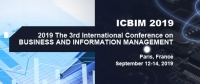 2019 The 3rd International Conference on Business and Information Management (ICBIM 2019)