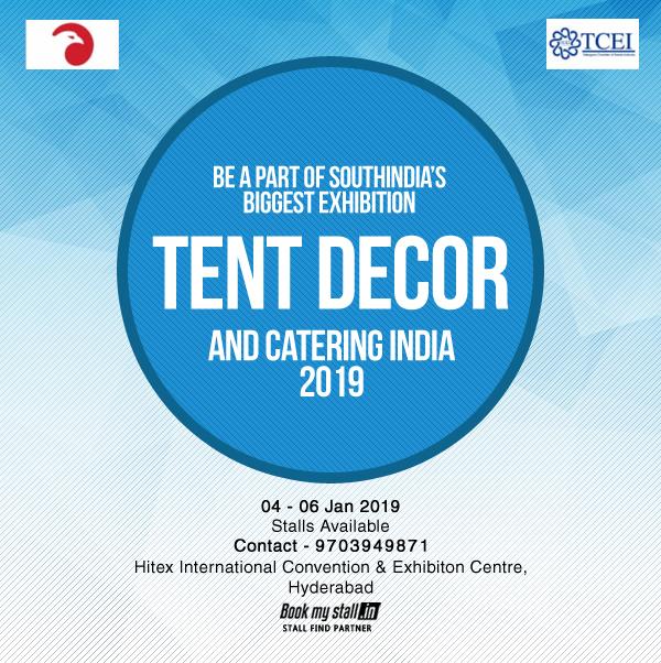 Tent Decor and Catering India 2019 at Hyderabad - BookMyStall, Bangalore, Karnataka, India