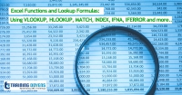 Live Webinar on Excel Functions and Lookup Formulas: Using VLOOKUP, HLOOKUP, MATCH, INDEX, IFNA, IFERROR and more..
