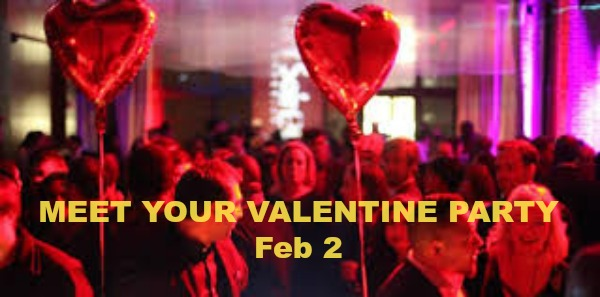 Meet Your Valentine Singles Dance Party, Santa Clara, California, United States