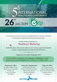 Medetalks 2019 - 5th International Health Care Conference
