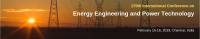 175th International Conference on Energy Engineering and Power Technology