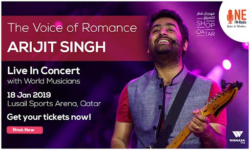 Arijit Singh Live in Concert, 26060, Doha, Qatar