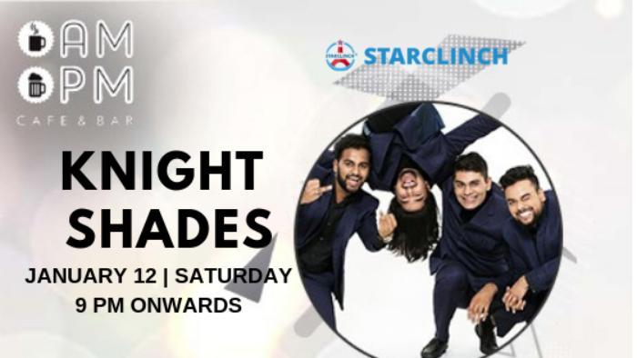 Knight Shades - Performing LIVE at 'AMPM Cafe & Bar' Galleria, Gurgaon, Haryana, India