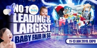Baby Fair 2019 – Baby World Fair 11 to 13 Jan 2019 at Singapore Expo