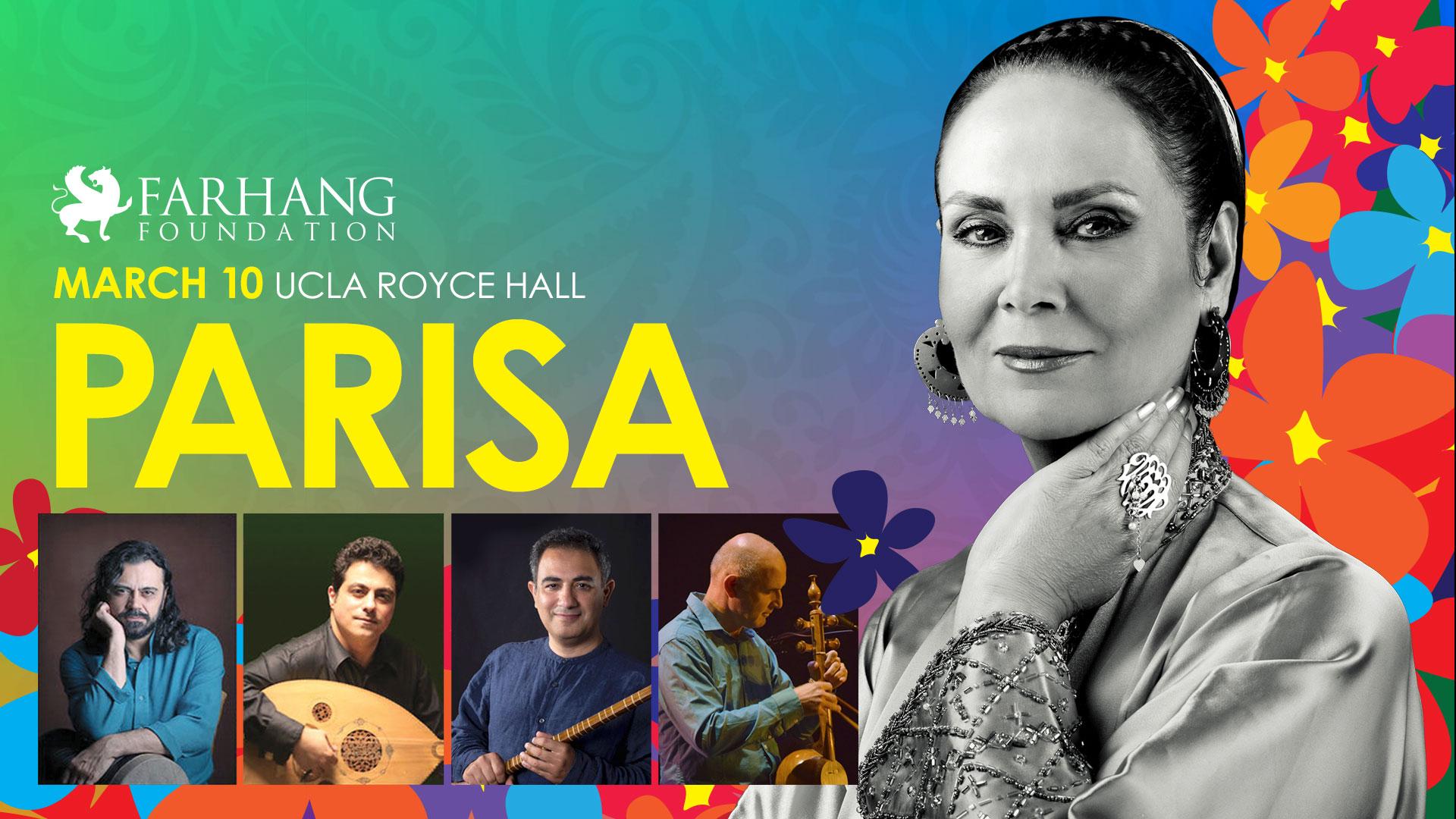 Parisa Live in Concert, Los Angeles, California, United States
