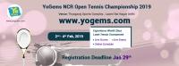 YoGems NCR Open Tennis Championship 2019
