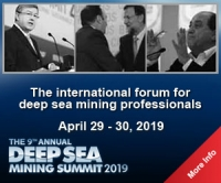 Deep Sea Mining Summit Exhibition and Conference 2019