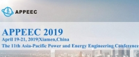 【EI indexing】The 11th Asia-Pacific Power and Energy Engineering Conference (APPEEC 2019)