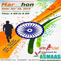 Marathon Run To Celebrate Republic day 2K19 - Entryeticket