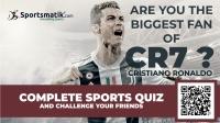 Quiz Quest | Cristiano Ronaldo Quiz Quest | Sportsmatik.Com's Quiz Quest