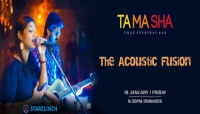 The Acoustic Fusion - Performing LIVE At 'Tamasha' Connaught Place