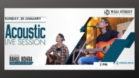 Rahul Bohra (Swar A Soul Of Music) - Performing LIVE at Cafe Wall Street