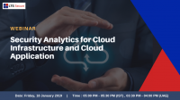 Security Analytics For Cloud Infrastructure And Cloud Application