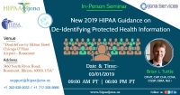 New 2019 HIPAA Guidance on De-Identifying Protected Health Information