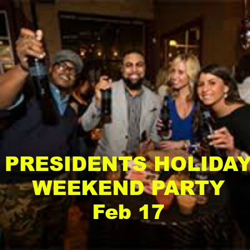 Presidents Holiday Weekend Singles Party, San Francisco, California, United States
