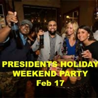 Presidents Holiday Weekend Singles Party