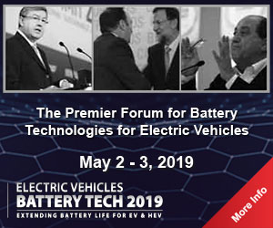 BATTERY TECH 2019 Exhibition and Conference 2019, Frankfurt, Hessen, Germany
