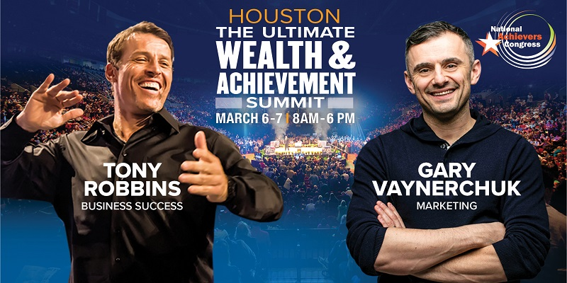 Tony Robbins & Gary Vaynerchuk Live! Houston, Houston, Texas, United States
