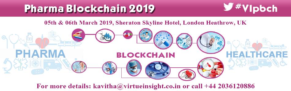 Pharma Blockchain 2019 - Conference