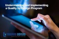 Live Webinar on Understanding and Implementing a Quality by Design Program