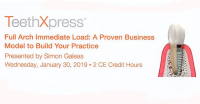 Teeth Xpress: Full Arch Immediate Load A Proven Business Model