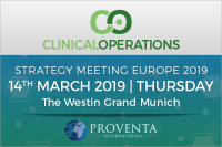 Clinical Operations Strategy Meeting 2019 in Germany | Proventa International