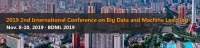 2019 2nd International Conference on Big Data and Machine Learning (BDML 2019)