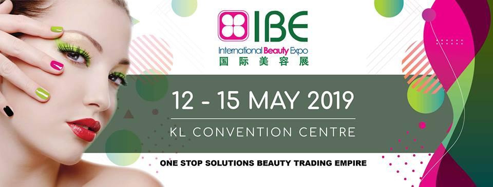 2019年第十三届马来西亚国际美容展 (IBE), KL, Kuala Lumpur, Malaysia