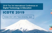 2019 The 3rd International Conference on Digital Technology in Education (ICDTE 2019)