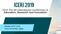 2019 The 9th International Conference on Education, Research and Innovation (ICERI 2019)