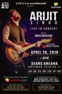 Arijit Singh Live in Concert 2019 Chicago