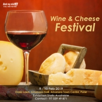 Wine and Cheese Festival at Pune - BookMyStall