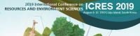 2019 International Conference on Resources and Environment Sciences (ICRES 2019)