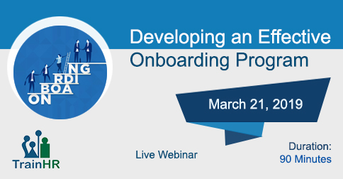 Developing an Effective Onboarding Program, Fremont, California, United States