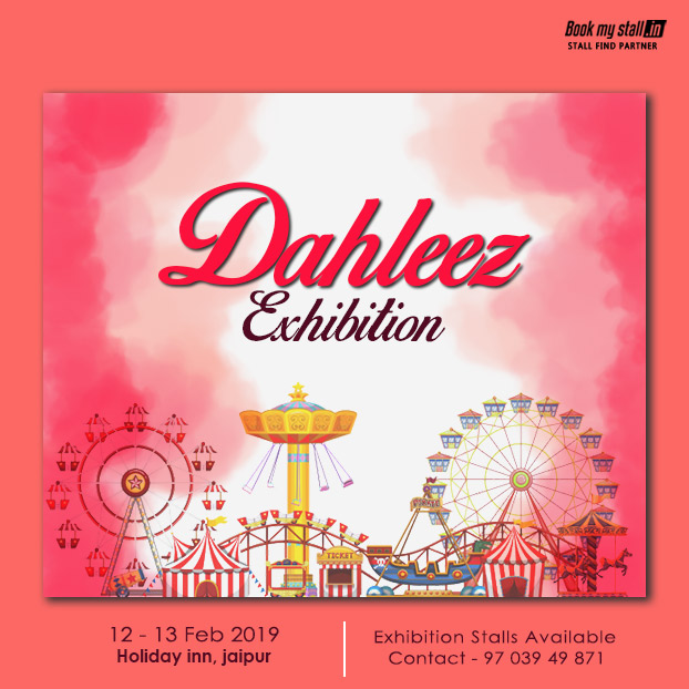Dahleez Wedding and Lifestyle Exhibition at Jaipur - BookMyStall, Jaipur, Rajasthan, India