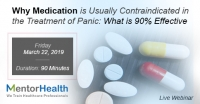 Why Medication is Usually Contraindicated in the Treatment of Panic: What is 90% Effective