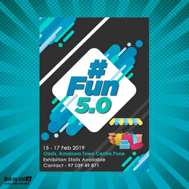 #Fun 5.0 at Pune - BookMyStall, Pune, Maharashtra, India