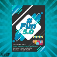 #Fun 5.0 at Pune - BookMyStall