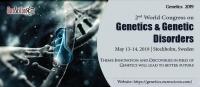 2nd World Congress on Genetics & Genetic Disorders