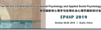 The 4th Int'l Conference on Educational Psychology and Applied Social Psychology (EPASP 2019)