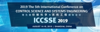 2019 The 5th International Conference on Control Science and Systems Engineering (ICCSSE 2019)