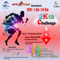 Challenge Run 2K19 - Entryeticket