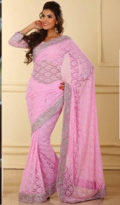 Buy Net sarees online from Mirraw.