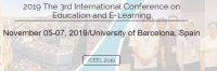 2019 The 3rd International Conference on Education and E-Learning (ICEEL 2019)