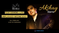 Akshay Sharma - Performing LIVE at 'The Sky High' Ansal Plaza