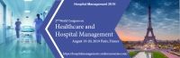 2nd World Congress on Healthcare and Hospital Management