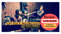 BURANS - Performing LIVE at 'Cafe Wall Street C.P.