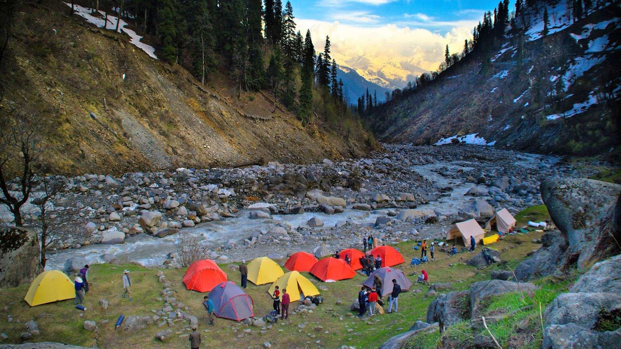 Beas Kund Trek, Kullu, Himachal Pradesh, India