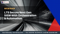 LTS Secure Next Gen SIEM With Orchestration & Automation
